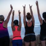 Girl power at Masada