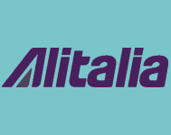 Alitalia purple