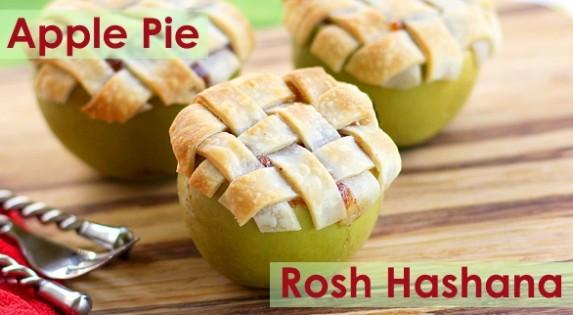Mini Apple pie for Rosh Hashana