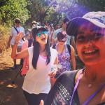 Hike selfie