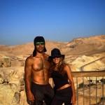 Couple on Masada