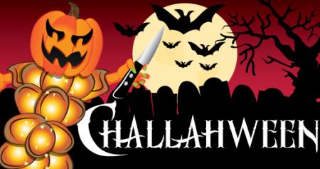 Challahween-Pumpkin Challah picture
