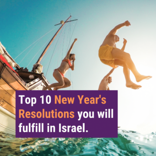 top 10 new years resolutions Birthright Israel