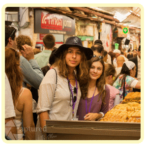 Girls at Shuk